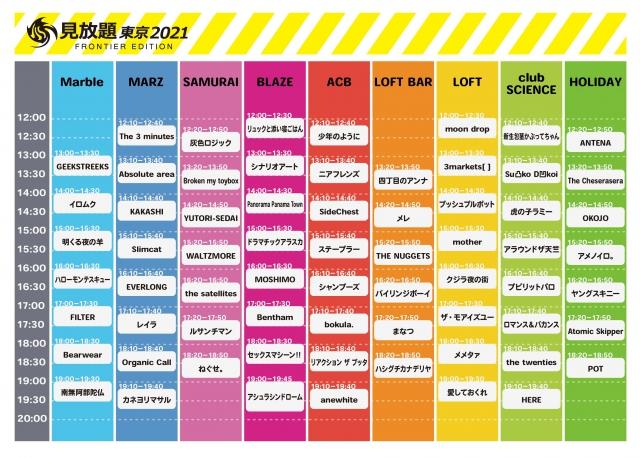 見放題東京2021 FRONTIER EDITION