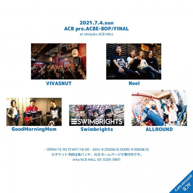 『ACBE-BOP/FINAL』 -ACB anniversary!!-