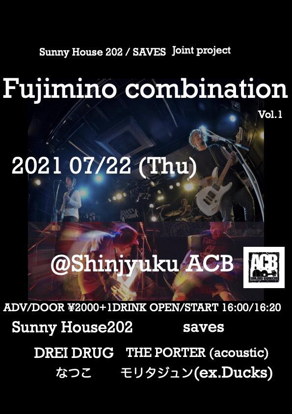 『Fujimino combination』vol.1