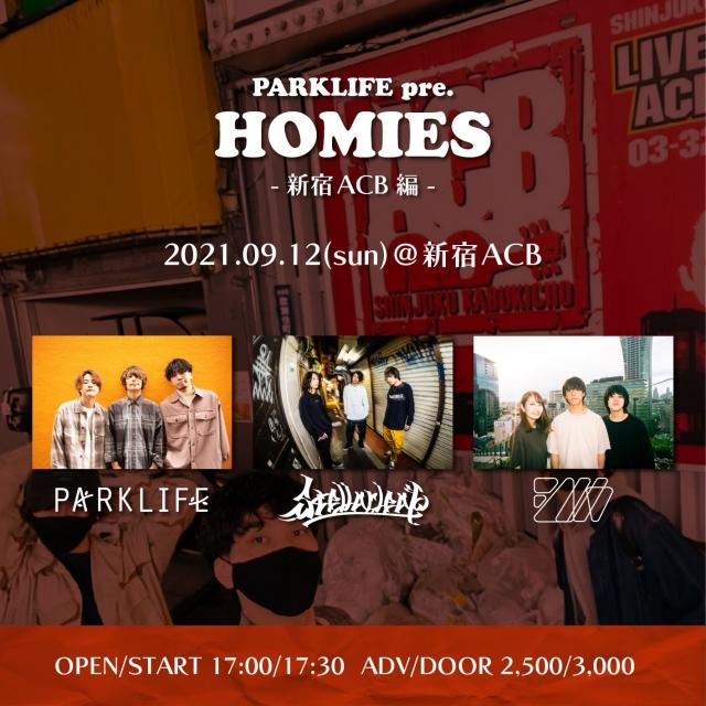"""HOMIES""新宿ACB編"